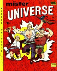 Mr. Universe: Issue 2 Volume Issue 2 by Comic Media