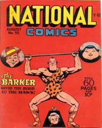 National Comics: Issue 55 Volume Issue 55 by Quality Comics