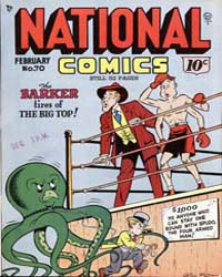 National Comics: Issue 70 Volume Issue 70 by Quality Comics