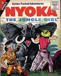 Nyoka the Jungle Girl: Issue 19 Volume Issue 19 by Charlton Comics