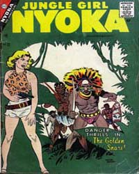 Nyoka the Jungle Girl: Issue 22 Volume Issue 22 by Charlton Comics