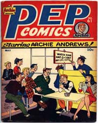 Pep Comics: Issue 61 Volume Issue 61 by Mlj/Archie Comics