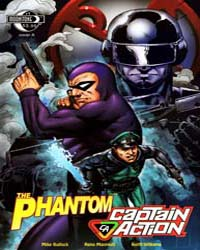 The Phantom Captain Action: Issue 1 Volume Issue 1 by Falk, Lee