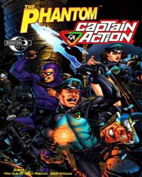 The Phantom Captain Action: Issue 2 Volume Issue 2 by Falk, Lee