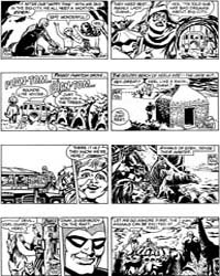 The Phantom Daily Strip: Drama on Eden: ... Volume Issue 187 by Falk, Lee