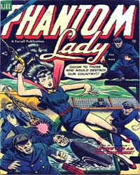Phantom Lady: Issue 2 Volume Issue 2 by Ajax-Farrel Publications