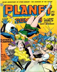 Planet Comics: Issue 32 Volume Issue 32 by Fiction House