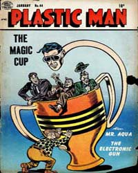 Plastic Man: Issue 44 Volume Issue 44 by Cole, Jack