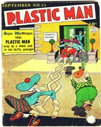Plastic Man: Issue 25 Volume Issue 25 by Cole, Jack