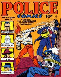 Police Comics: Issue 3 Volume Issue 3 by Quality Comics