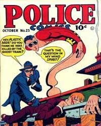 Police Comics: Issue 23 Volume Issue 23 by Quality Comics