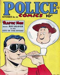 Police Comics: Issue 48 Volume Issue 48 by Quality Comics