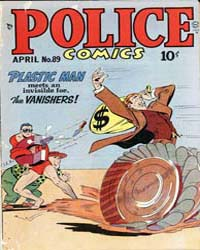 Police Comics: Issue 89 Volume Issue 89 by Quality Comics