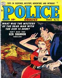 Police Comics: Issue 113 Volume Issue 113 by Quality Comics