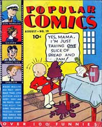 Popular Comics: Issue 19 Volume Issue 19 by Dell Comics