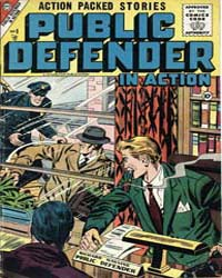 Public Defender in Action: Issue 8 Volume Issue 8 by Charlton Comics