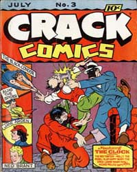 Crack Comics : Issue 3 Volume Issue 3 by Quality Comics