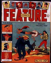 Feature Comics : Issue 42 Volume Issue 42 by Quality Comics