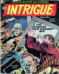 Intrigue : Issue 1 Volume Issue 1 by Quality Comics