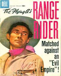 The Flying A's Range Rider: Issue 20 Volume Issue 20 by Dell Comics