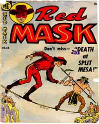 Red Mask: Issue 44 Volume Issue 44 by Magazine Enterprises