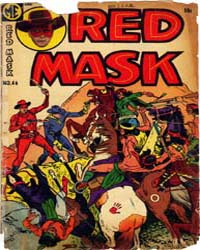 Red Mask: Issue 46 Volume Issue 46 by Magazine Enterprises