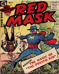 Red Mask: Issue 51 Volume Issue 51 by Magazine Enterprises