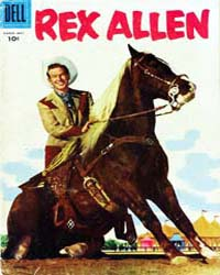 Rex Allen: Issue 20 Volume Issue 20 by Dell Comics