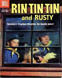Rin Tin Tin and Rusty: Issue 32 Volume Issue 32 by Dell Comics