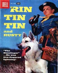 Rin Tin Tin and Rusty: Issue 21 Volume Issue 21 by Dell Comics