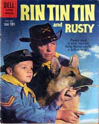 Rin Tin Tin and Rusty: Issue 35 Volume Issue 35 by Dell Comics