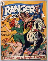 Rangers Comics: Issue 47 Volume Issue 47 by Fiction House
