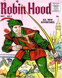 Robin Hood: Issue 4 Volume Issue 4 by Magazine Enterprises