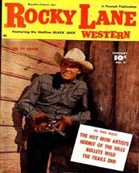 Rocky Lane: Issue 9 Volume Issue 9 by Fawcett Magazine