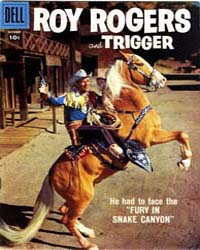 Roy Rogers and Trigger: Issue 118 Volume Issue 118 by Dell Comics