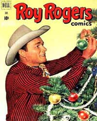 Roy Rogers: Issue 49 Volume Issue 49 by Dell Comics