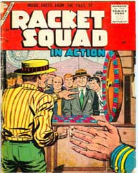 Racket Squad: Issue 24 Volume Issue 24 by Charlton Comics