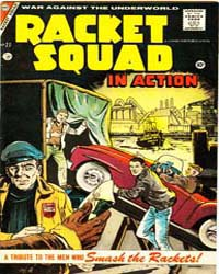 Racket Squad: Issue 27 Volume Issue 27 by Charlton Comics