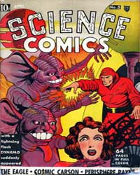 Science Comics: Issue 3 Volume Issue 3 by Fox Feature Syndicate