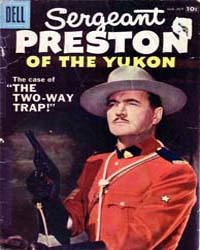 Sergeant Preston of the Yukon: Issue 24 Volume Issue 24 by Dell Comics