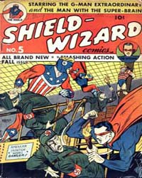 Shield Wizard Comics: Issue 5 Volume Issue 5 by Mlj/Archie Comics
