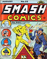Smash Comics: Issue 25 Volume Issue 25 by Quality Comics