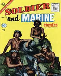 Soldier and Marine Comics: Issue 13 Volume Issue 13 by Charlton Comics