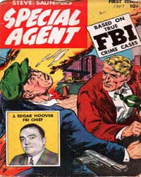 Special Agent: Issue 1 Volume Issue 1 by Parents Magazine Institute