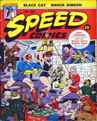Speed Comics: Issue 35 Volume Issue 35 by Harvey Comics