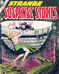 Strange Suspense Stories: Issue 21 Volume Issue 21 by Charlton Comics