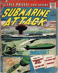 Submarine Attack: Issue 19 Volume Issue 19 by Charlton Comics