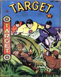 Target Comics: Volume 6, Issue 9 by Briefer, Dick
