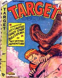 Target Comics: Volume 9, Issue 7 by Briefer, Dick