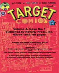 Target Comics: Volume 4, Issue 1 by Briefer, Dick